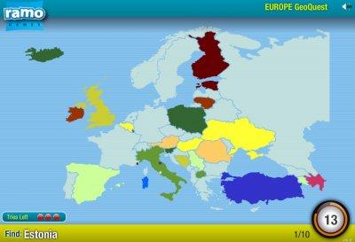 Хорошо ли вы знаете Европу?