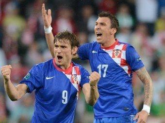 Сборная Хорватии выиграла первый матч на Евро-2012