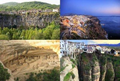 10 удивительных городов на скалах