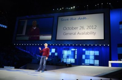 Названа точная дата выхода Windows 8