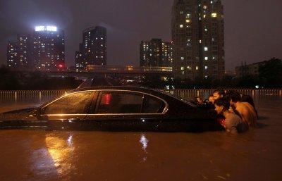 Пекин пережил рекордный дождь. Фоторепортаж