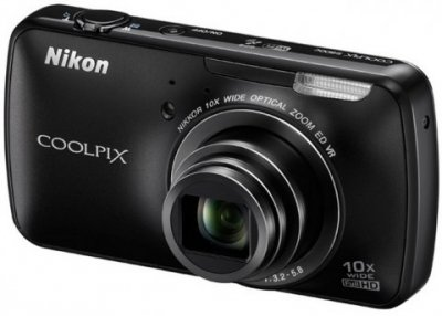 Nikon Coolpix S800c: фотоаппарат с ОС Android представлен официально