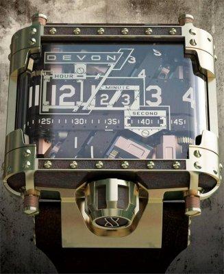 Наручные часы Devon. Любителям Steampunk-а