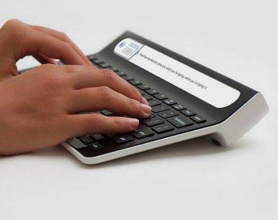 Smartype: новая клавиатура от KeyView со встроенным экраном