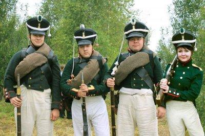 Чебоксарцы сражались на Бородинском поле