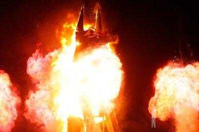 Фестиваль Burning Man в невадской пустыне Black Rock