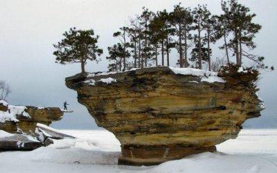 Остров Turnip Rock (7 фото)