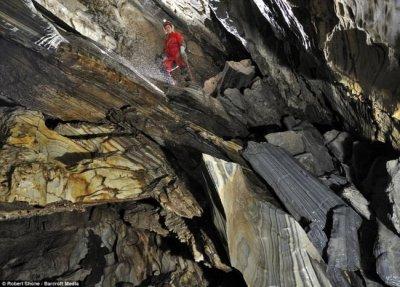 Красивые пещеры Обир Тропфштейн (Австрия)