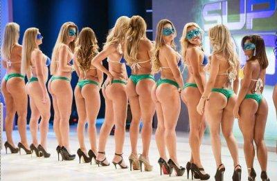 Бразильский конкурс Miss Bum Bum 2012 (Мисс попка 2012)