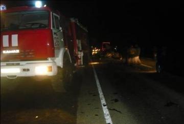 Авария на автодороге А-151 «Цивильск-Ульяновск»