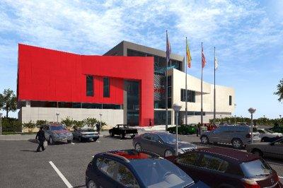 Архитекторами согласованы фасады первого физкультурно-оздоровительного комплекса на территории г. Чебоксары