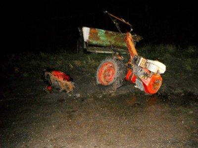 В Чувашии пьяный водитель «пятнашки» врезался в мотоблок