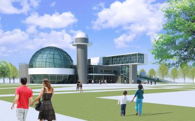 Вчера на градостроительном совете представили вот этот вариант планетария