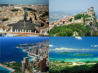10 самых маленьких стран