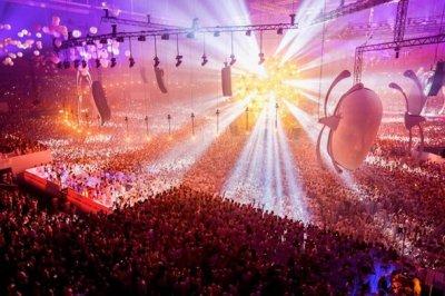 Sensation 'Source Of Light' in Copenhagen, Denmark 2012.