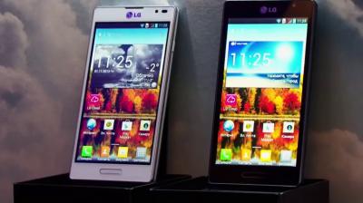 Обзор смартфона - LG Optimus Vu