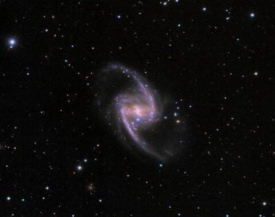 В галактике NGC 1365 вспыхнула сверхновая типа Ia