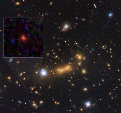 Обнаружена одна из самых далеких галактик