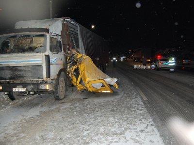 "Страшная авария на маршруте №104 ""Чебоксары-Ишлеи"""