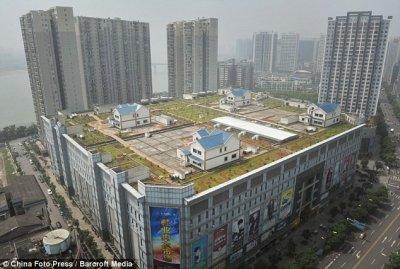 Чжучжоу: виллы на крыше торгового центра