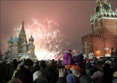 Празднование Нового 2013 года по всему миру (35 фото)