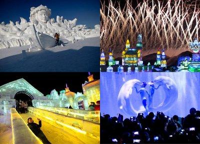 Харбинский международный фестиваль снежных и ледяных скульптур 2013