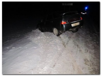 Смертельный наезд ВАЗ-2112 на человека, лежащего на дороге...