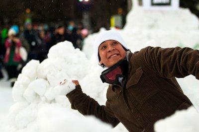 Снежная битва в Сиэтле собрала рекордное число участников