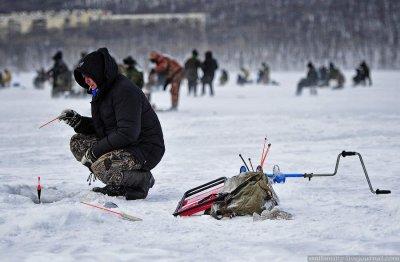 Народная рыбалка во Владивостоке
