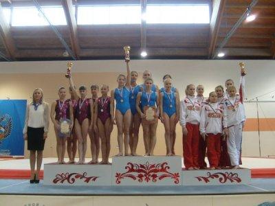 В заключительный день чемпионата Поволжья по спортивной гимнастике спортсмены Чувашии завоевали 8 медалей