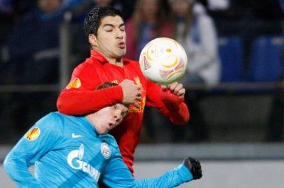 «Зенит» обыграл «Ливерпуль» в матче Лиги Европы