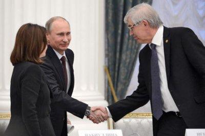 Путин номинировал Набиуллину на пост главы ЦБ