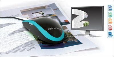 IRIScan Mouse: компьютерная мышь со встроенным сканером
