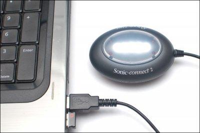 Sonic-connect 2 уведомит о новых сообщениях на ПК