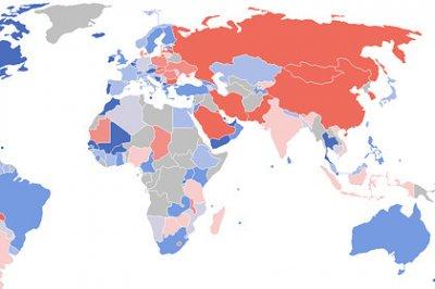 Россия вошла в тройку стран-ксенофобов