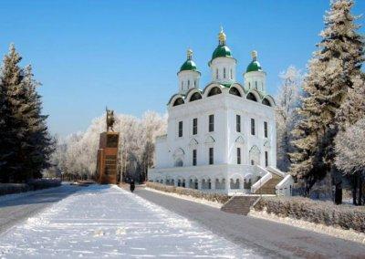 В сквере Чапаева хотят построить кафедральный собор
