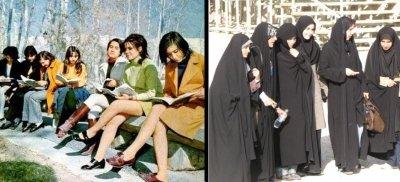 Иран до исламской революции и после