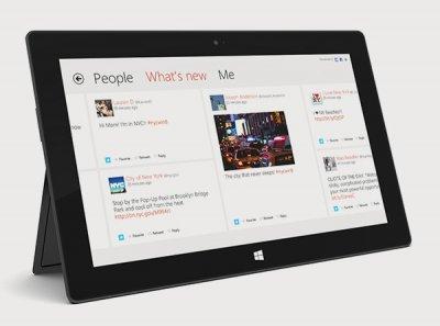 Начались российские продажи планшета Microsoft Surface RT
