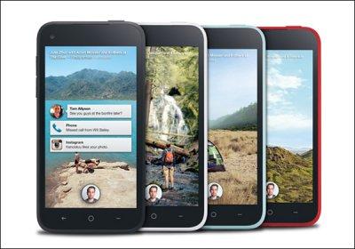 Facebook и HTC анонсировали 100-долларовый смартфон First
