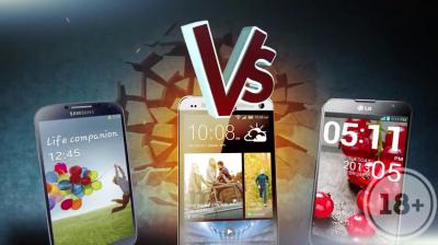 Versus: Битва весенних Android-флагманов