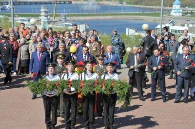 В Чебоксарах прошли мероприятия в честь Дня Победы