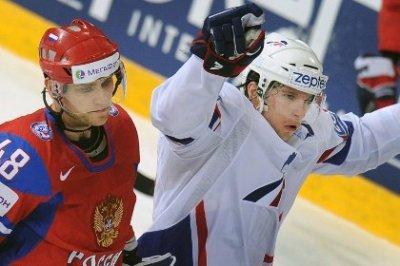 Сборная России потерпела первое поражение на ЧМ-2013