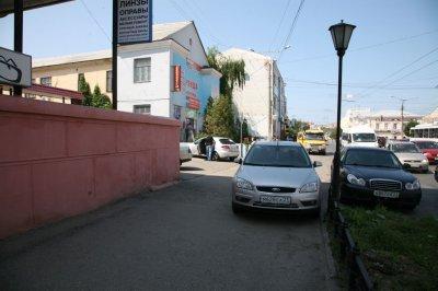 Несанкционированная парковка будет пресечена