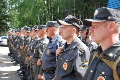 Сводный отряд чувашских полицейских отбыл в служебную командировку в Чечню