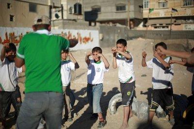 Детский летний лагерь ХАМАС в секторе ГАЗА