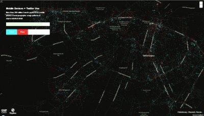 Владельцы iPhone сосредоточены в центре Чебоксар, Android – на окраинах
