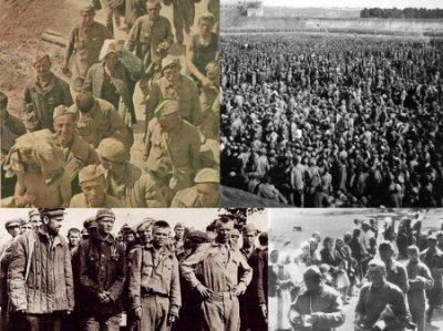 Правда о пленных советских солдатах. Часть 1.