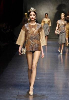 Dolce & Gabbana осень-зима 2013/2014