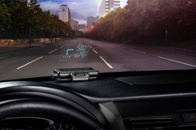 Garmin встроит навигатор в лобовое стекло автомобиля