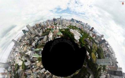 Новая круговая панорама Токио - второй по величине снимок в мире
